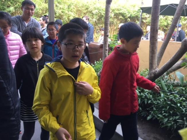 今年的南加中國遊學團呈現疲軟趨勢。(記者張宏/攝影)