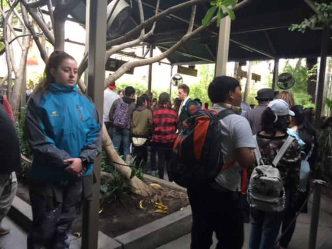 美國遊學的吸引力在下降,普通的景點參觀已經無法滿足中國學生和家長。(記者張宏/攝影)