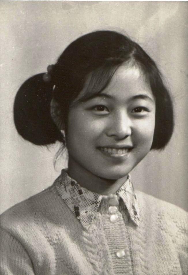 12歲的吳蠻在浙江藝術學校。