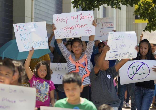 愛達荷州擬准許移民執法單位租用地方監獄,引起反對聲浪。(美聯社)