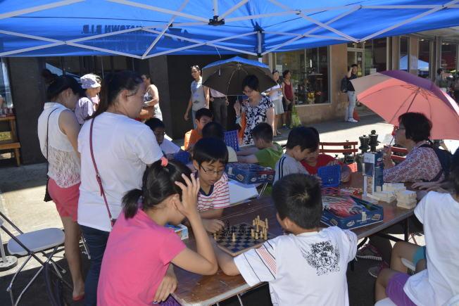 「周末漫遊節」,寓教於樂為孩子、大人提供玩耍好去處。(記者俞姝含/攝影)