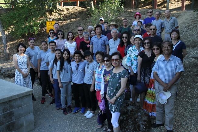台灣原住民青年海外遊學計畫代表團訪問灣區,五位學生計畫在美國訪問近一個月。(記者李榮/攝影)