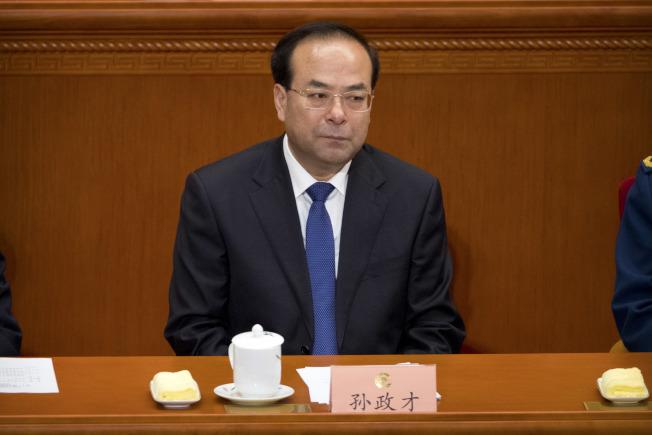 重慶市前市委書記孫政才日前突遭免職,傳涉及「嚴重違紀」被調查。(美聯社)