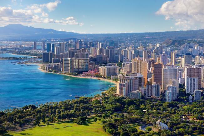 美國34個州居民領政府福利的金額高於最低薪,其中又以夏威夷最多。(網路圖片)