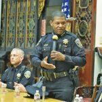 上任滿半年 金山警局長訪華埠