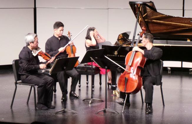 每年夏天在麻州Natick鎮舉行的胡桃山音樂營,推出系列開放公眾參加的高水準音樂會和大師講座。(記者唐嘉麗/攝影)