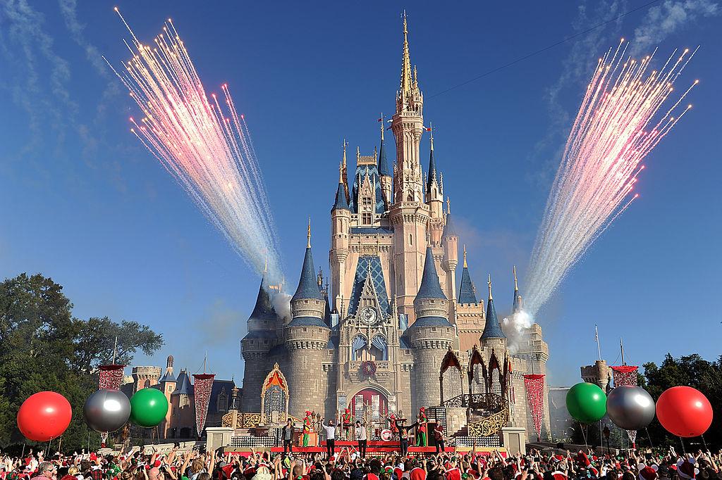 1971/10/1全世界最大的迪士尼樂園,佛羅里達華特迪士尼樂園開幕。。(Getty Images)