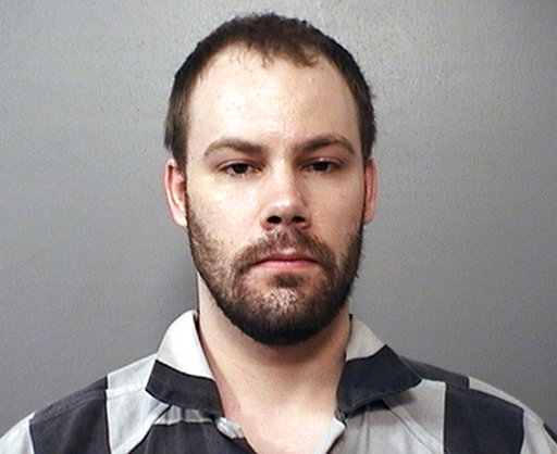 嫌犯克利斯汀森(Brendt Christensen)出席保釋聽證,神情自若。美聯社