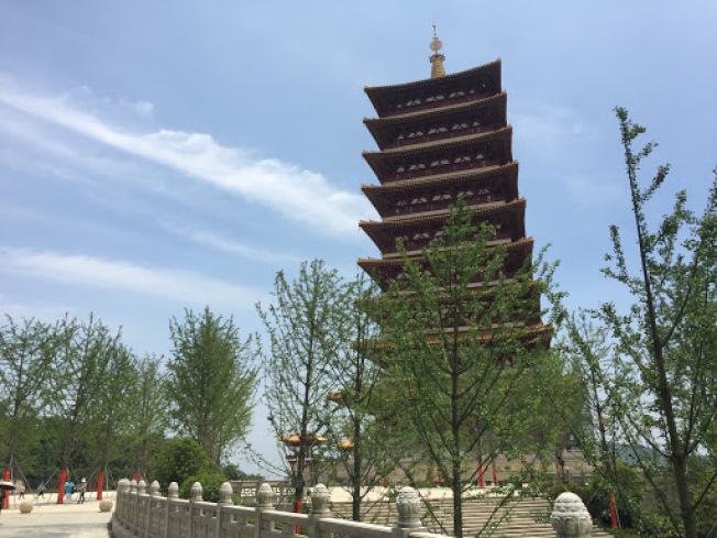 南京牛首山風景區。