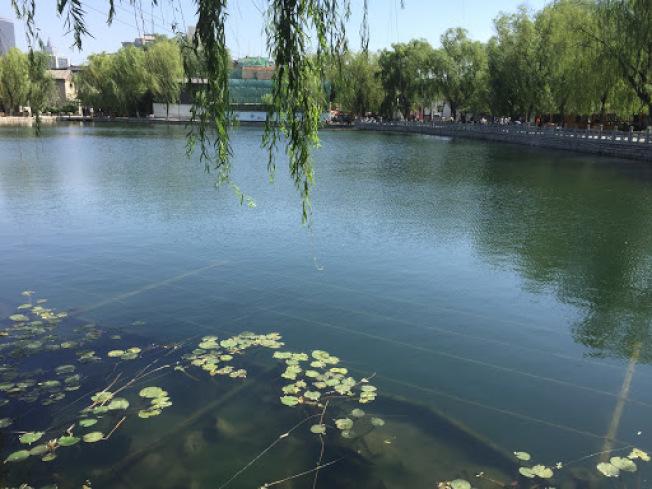 濟南大明湖。