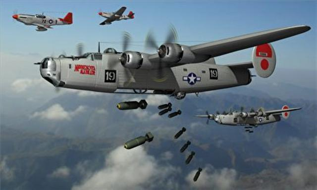 美軍在「駝峰航線」,曾先後投入飛機2100架,給中國抗日前線運送大量戰略物資和戰鬥人員,圖為類似機型。(資料照片)