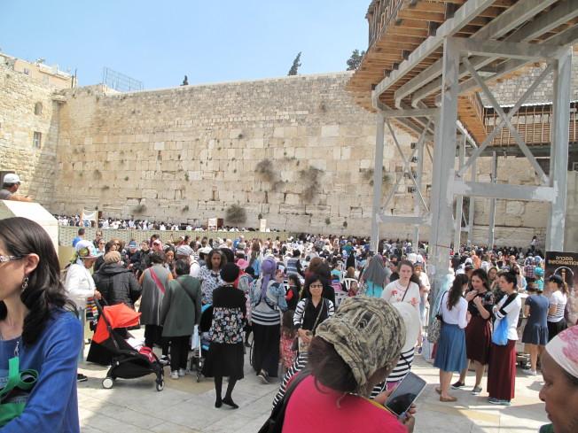 耶路撒冷有名的西牆。