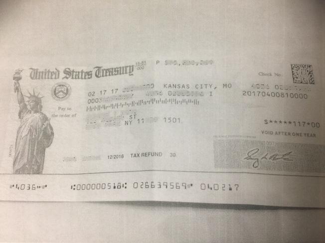 兒子用TurboTax報稅,很快獲得國稅局退稅。
