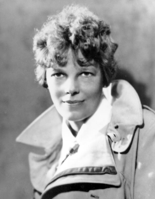 失蹤80年的傳奇女飛行員厄哈特。(美聯社)