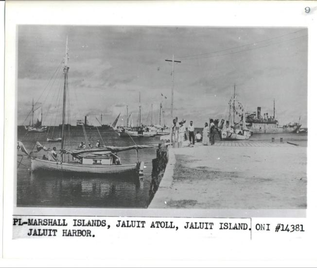 去年被發現的一張老照片,被解讀為與厄哈特有關。(國家檔案局)