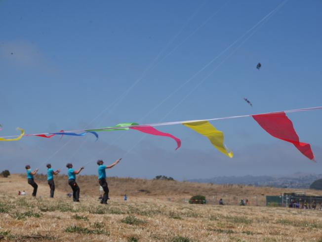 四人組表演,需要高超的技術和協調。