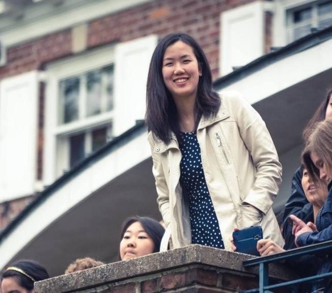 美國華裔乒乓球選手吳炫寧,將代表美國隊參加台灣世界大學生運動乒乓球比賽。圖為吳炫寧。(吳承聖提供)