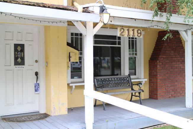地主查芬想要在自己位於Lincoln Ave. 的土地上建造教師專用的可負擔住宅,但是市府在土地用途的考量下否決了查芬的提案。(記者張毓思/攝影)