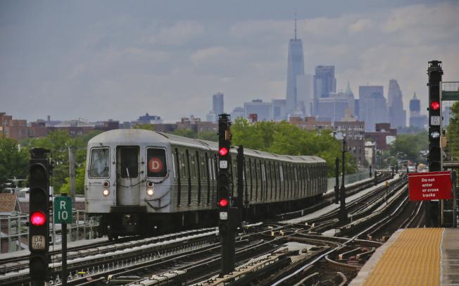 美國地鐵已成恐怖份子攻擊目標,圖為紐約市地鐵。(美聯社)