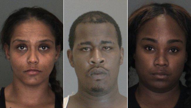 誤殺少女三嫌犯,左起梅爾卡多、皮茨、卡明斯。(聖伯納汀諾縣警局提供)