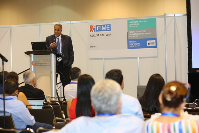 2017國際醫療展專家講座一景(FIME提供)