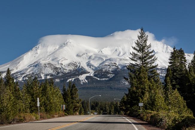 沙士達山是加州爆發風險最高的火山。(Getty Images)