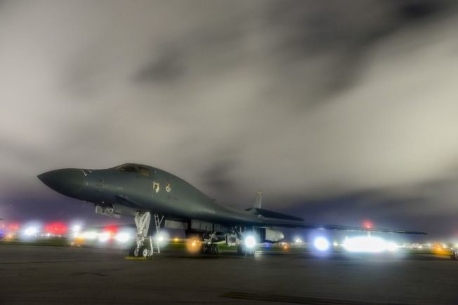美國空軍B-1B轟炸機。 美聯社