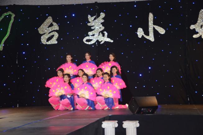 大洛杉磯台灣會館台美小姐才藝表演。(記者王全秀子/攝影)