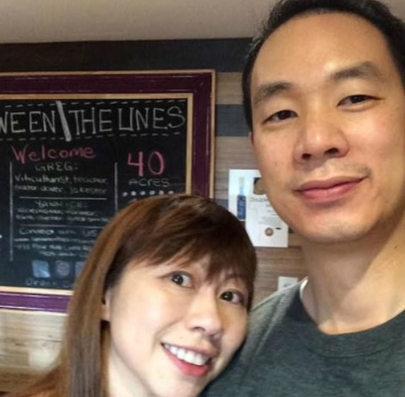 兩年前,鄭宇翔和妻子林曉欣拍下Presidio Terrace,如今引發爭議。(取材自臉書)