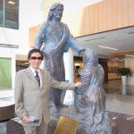 王維力第八座耶穌雕像揭幕