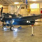 二戰「野貓」戰機 大黃蜂號上展出