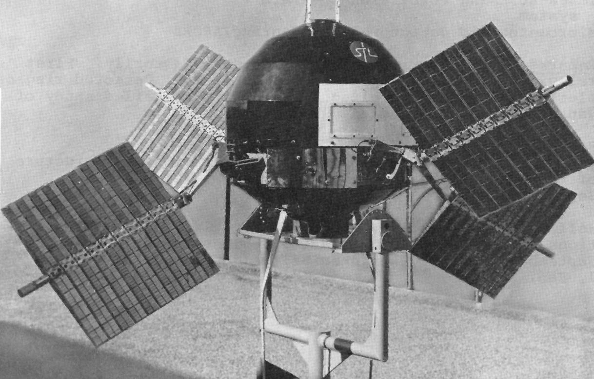 探索者6號衛星。圖/取自NASA官網
