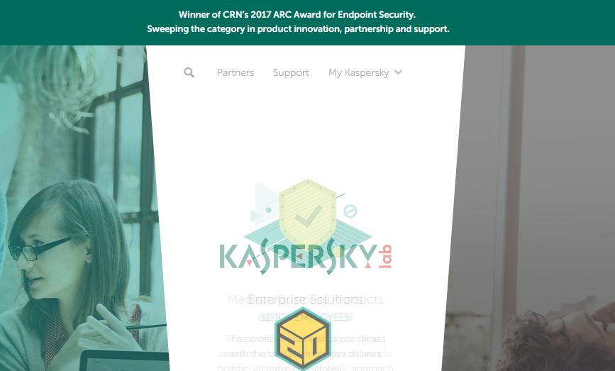 圖/取自卡巴斯基實驗室(Kaspersky Lab)官網。