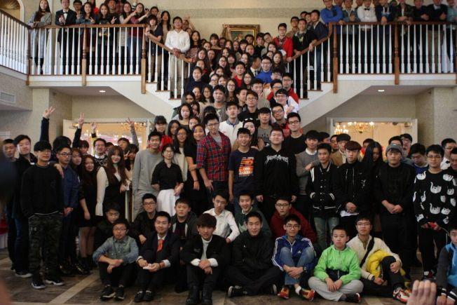 來美的中國小留學生越來越多。(AIEP/提供)