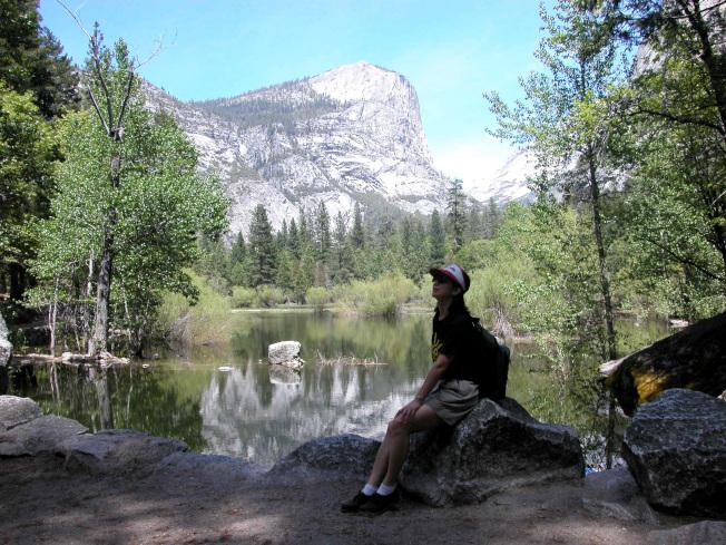 加州優勝美地國家公園露營地周邊。