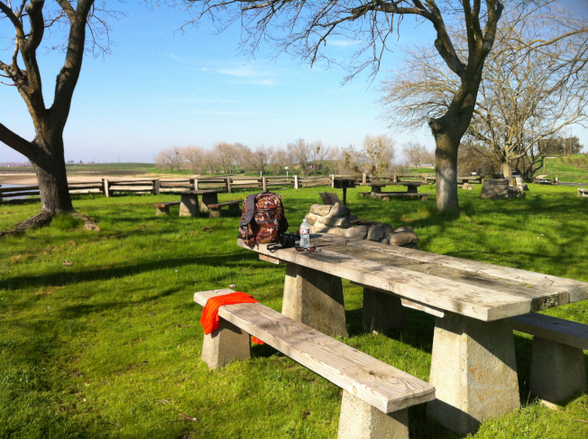 加州圖洛克州立公園日間野餐設施。