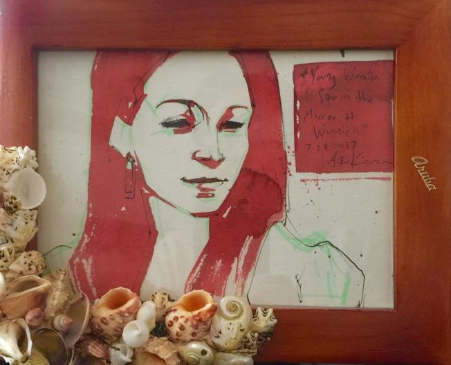 女兒的畫像