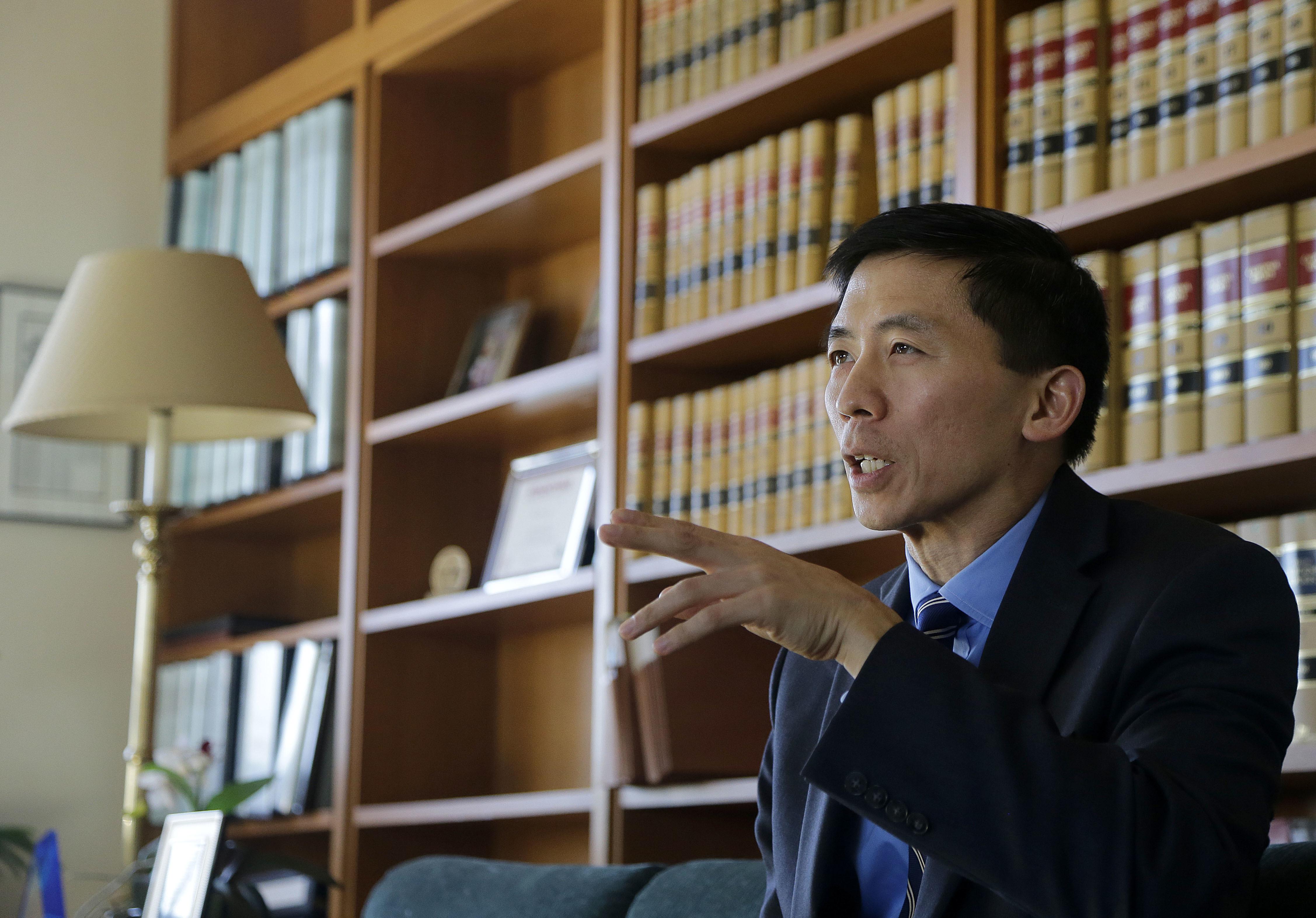 加州最高法院法官劉弘威是傑出的華裔司法從業人員。(美聯社)