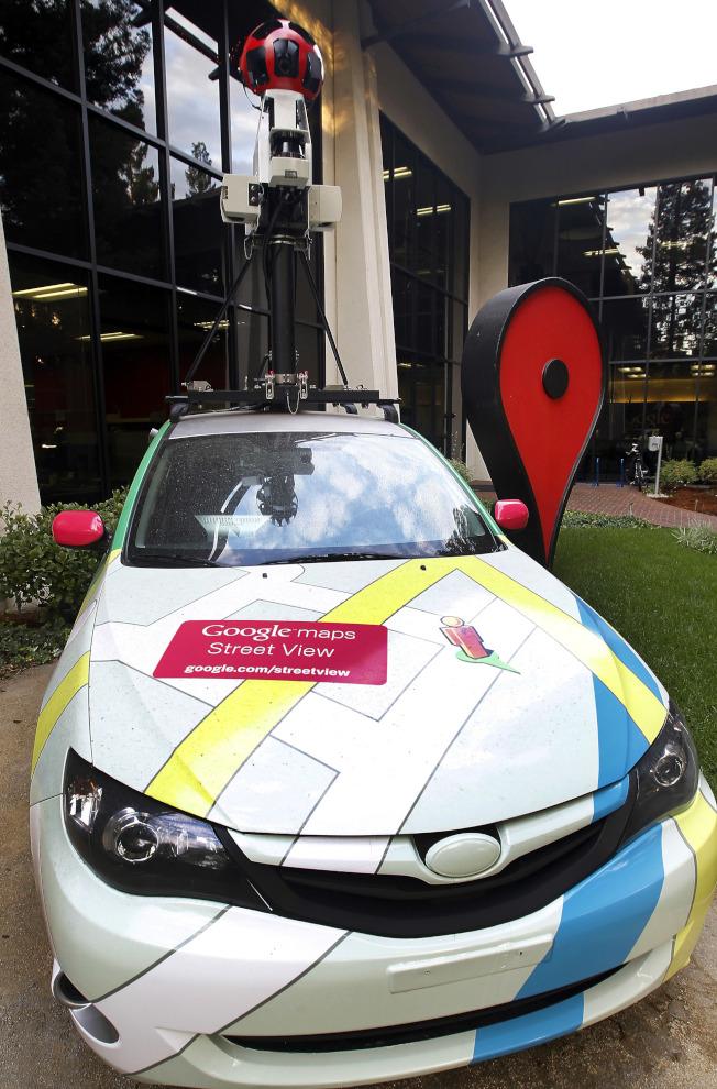 Google街景車將運用人工智慧新技術。(取材自彭博資訊)