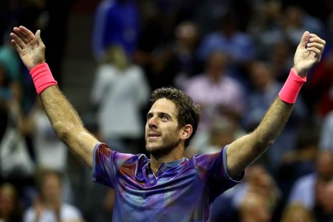 波特羅經過四盤大戰獲勝,挺進最後四強。(Getty Images)