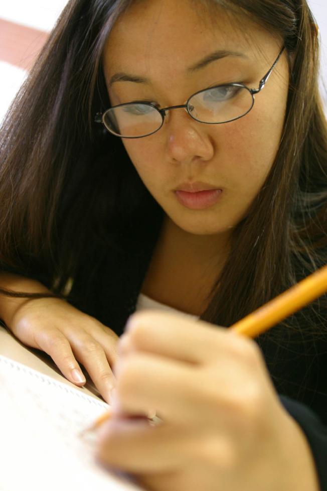 ACT測驗亞裔生成績亮麗。(ACT委員會提供)