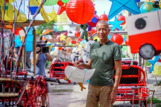 「蔡國強:螢火蟲」將成為蔡國強在美國最大的藝術展。(Association of Public Art)