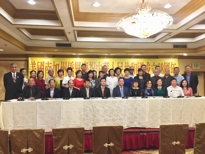南加州僑界將於16日起舉辦慶祝中華人民共和國成立68周年系列活動。(記者高梓原/攝影)