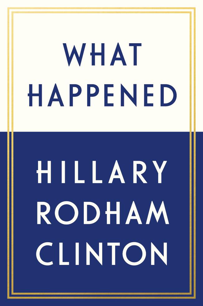 描述去年大選的回憶錄「事發緣由」封面。(美聯社)