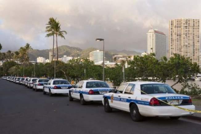 夏威夷警務傑出,2016年犯罪率創新低。(美聯社)