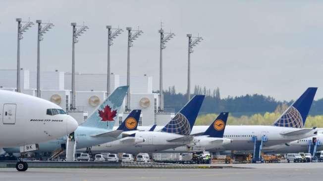 峰田機場10日傳出火警警報,所幸只是虛驚。(Getty Images)