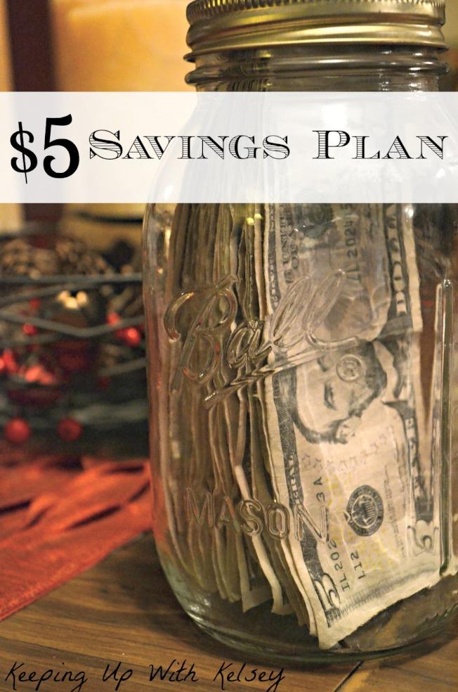 每次拿到五元鈔票就存起來,用這種方法累積的儲蓄數額,會令你驚訝。(網路圖片)
