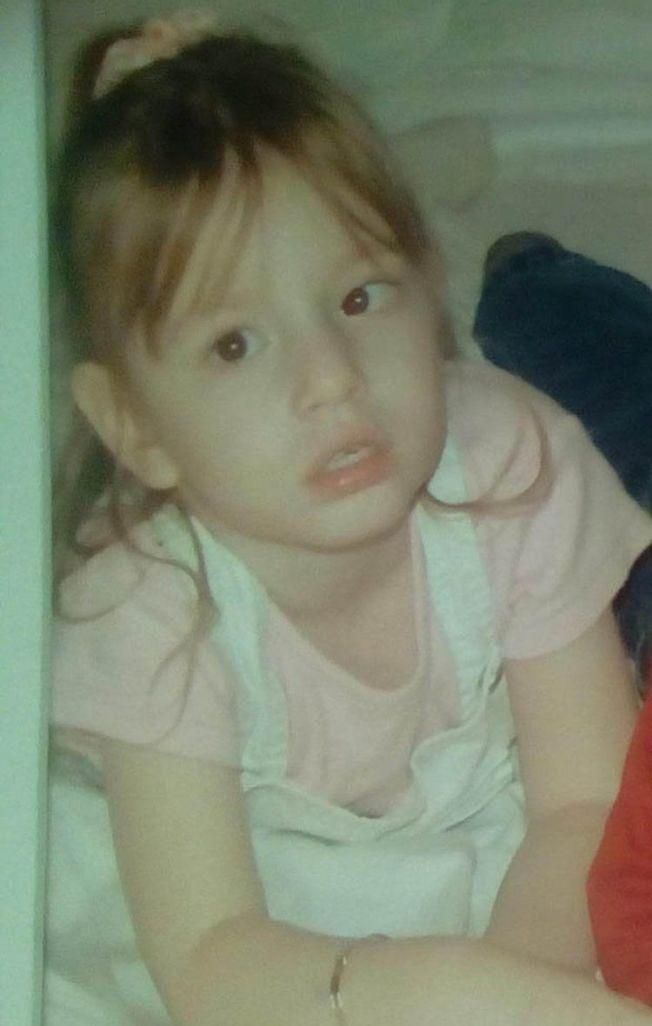 發病前的美樂蒂是個健康的小女孩。圖片來源/每日星報