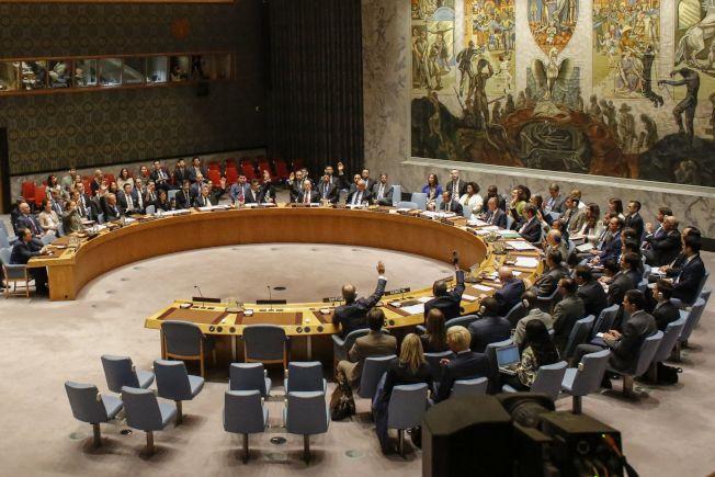 聯合國安理會11日下午無異議全票通過對北韓的新制裁案。(Getty Images)