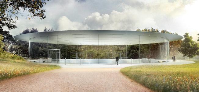 蘋果12日的新產品發表會確定在新總部的喬布斯劇院舉行。(蘋果提供)